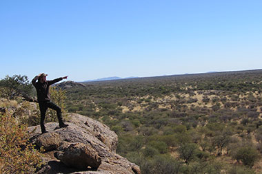 Jagdsafari Waterberg Namibia